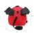 Winmax moda 3d bat asa pouco bebê jardim de infância mochila pequena bonito saco para 2 3 4 anos de idade as crianças corda Anti-perdido saco segurança