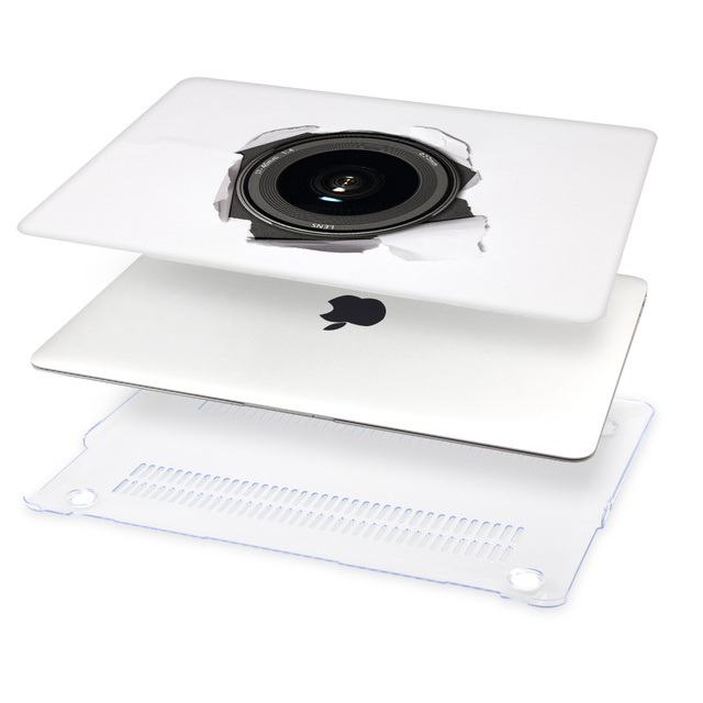 MacBook  Hard Case with 3D Printed Design
