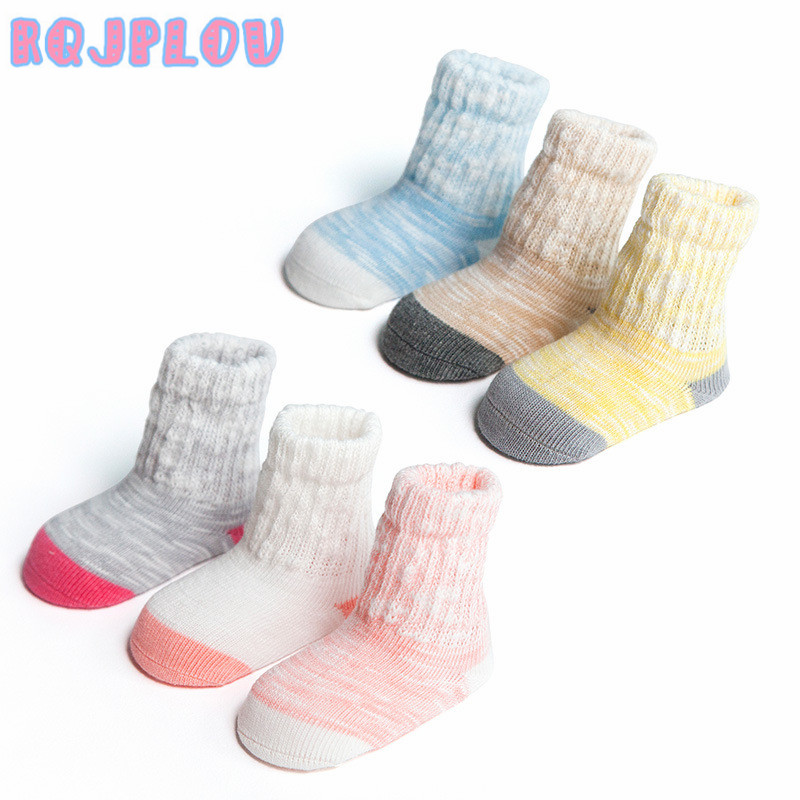 Infant, Cotton, New, Socks, Soft, Newborn