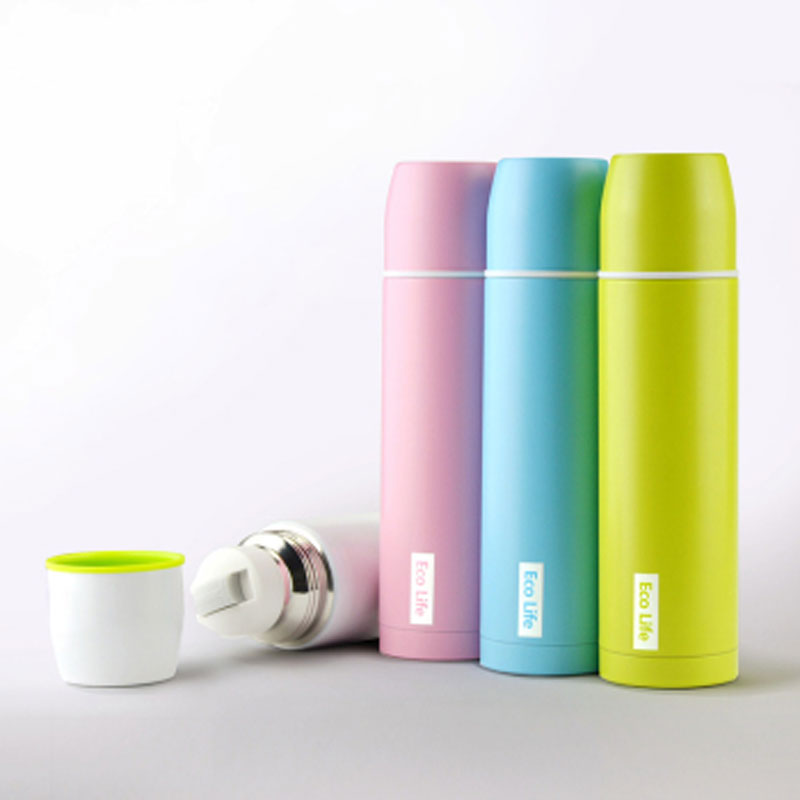 Oneday 450ml Thermos Bottle For Water Thermo Mug Coffee Mugs Thermal Cup Copo With Lid Black Insulated Vacuum Flask In Flasks Thermoses From