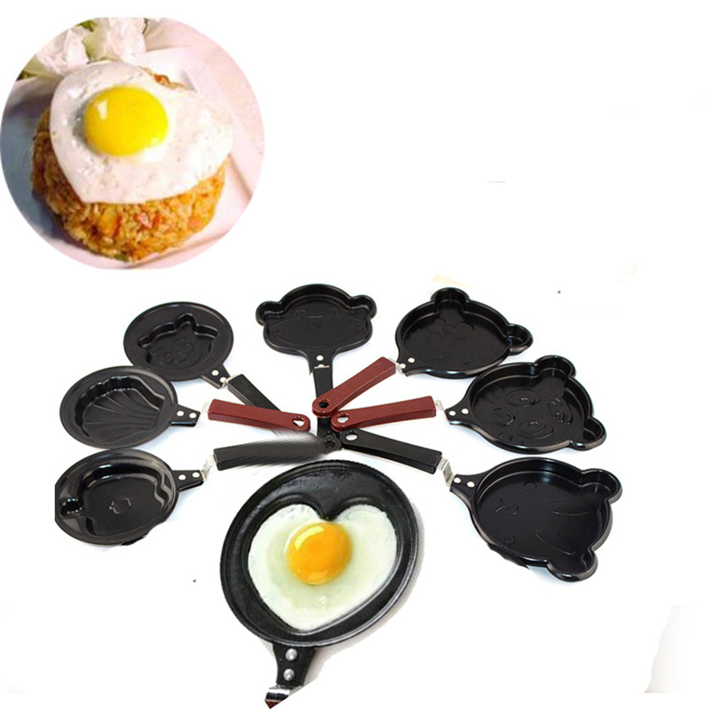 Mini egg pan for breakfast Healthy Non-stick frying pan for eggs mould Pancake Pot Cookware Cooking Tool kitchen accessories