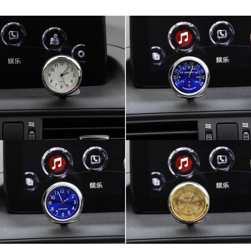 For 1Pcs Luminous Car clock Car