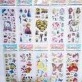 10 листов/пакет Мода Мультфильм Наклейки ПВХ 3D Пены Бабочка Баловень Kitty Модель Дети Детские Игрушки, Наклейки 21 х 7 см