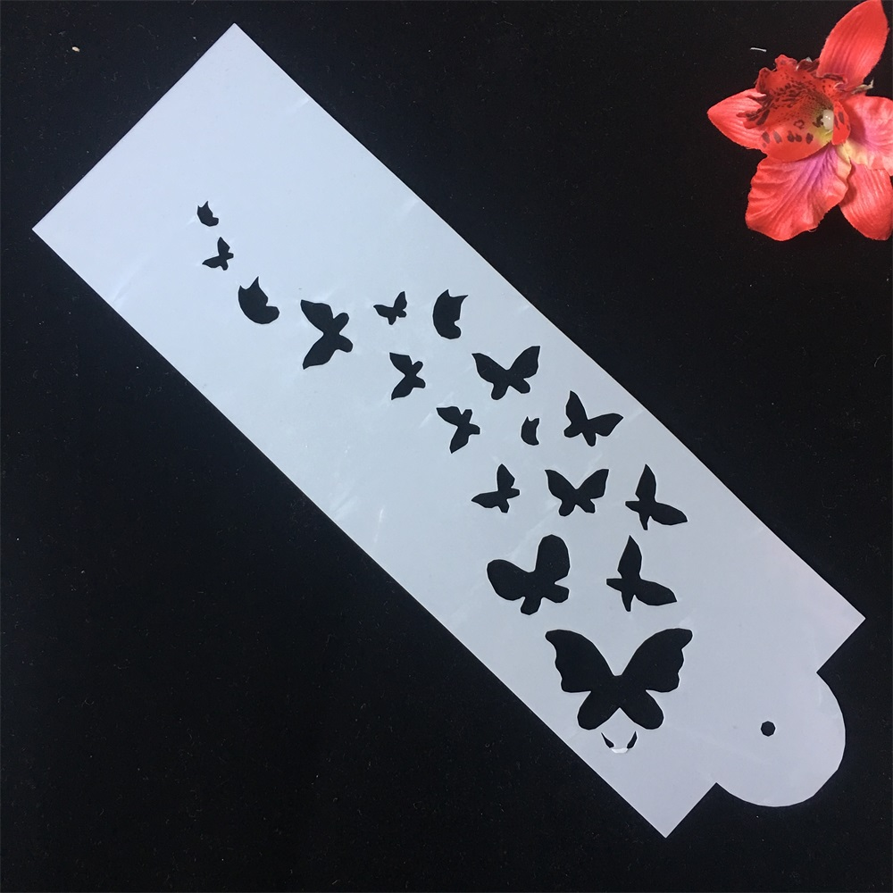 33*10cm 1Pcs Butterflies DIY Craft Layering Stencils Painting Scrapbooking Stamping Embossing Album Paper Card Template