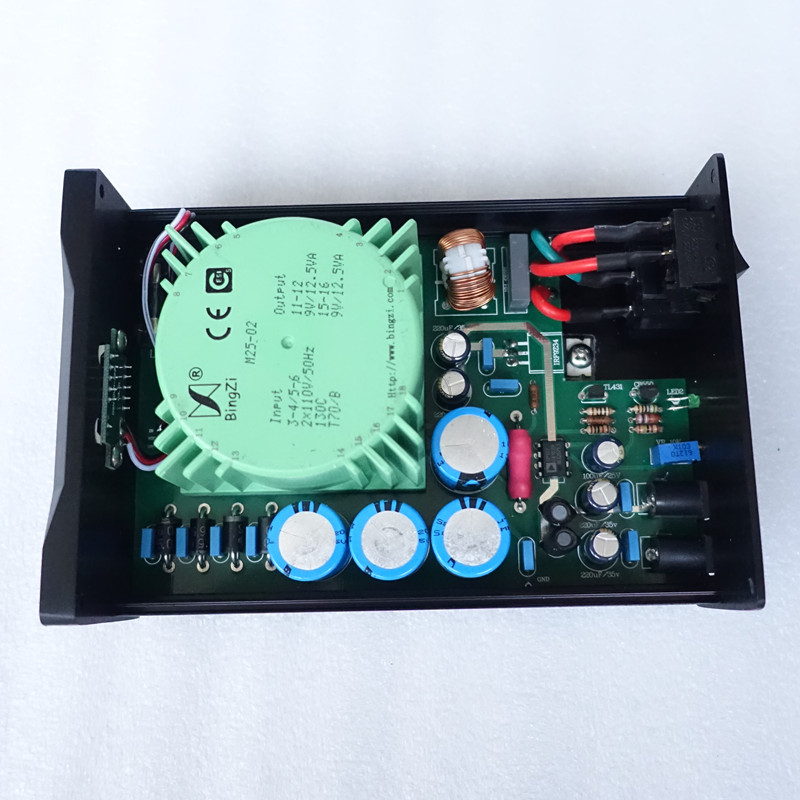 Image 5 - WEILIANG AUDIO 25W linear regulated power supply double output-in Amplifier from Consumer Electronics