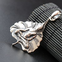 Ecoworld Ge Jewelry Wholesale Authentic S925 Sterling Silver Pendant Pendant Silver Thailand Small Amulet Silver Pendant