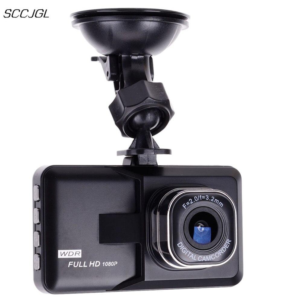 imágenes para 3.0 pulgadas de pantalla Full HD 1080 P Coche DVR mini Vehículo Dash Leva de la Cámara Grabadora de Vídeo del coche Registrator Grabadora de Aparcamiento g-sensor