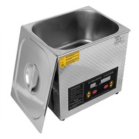 US Local Shipping 13Liter Industrial Grade Ultrasonic Cleaner Heater For Lab FCC App