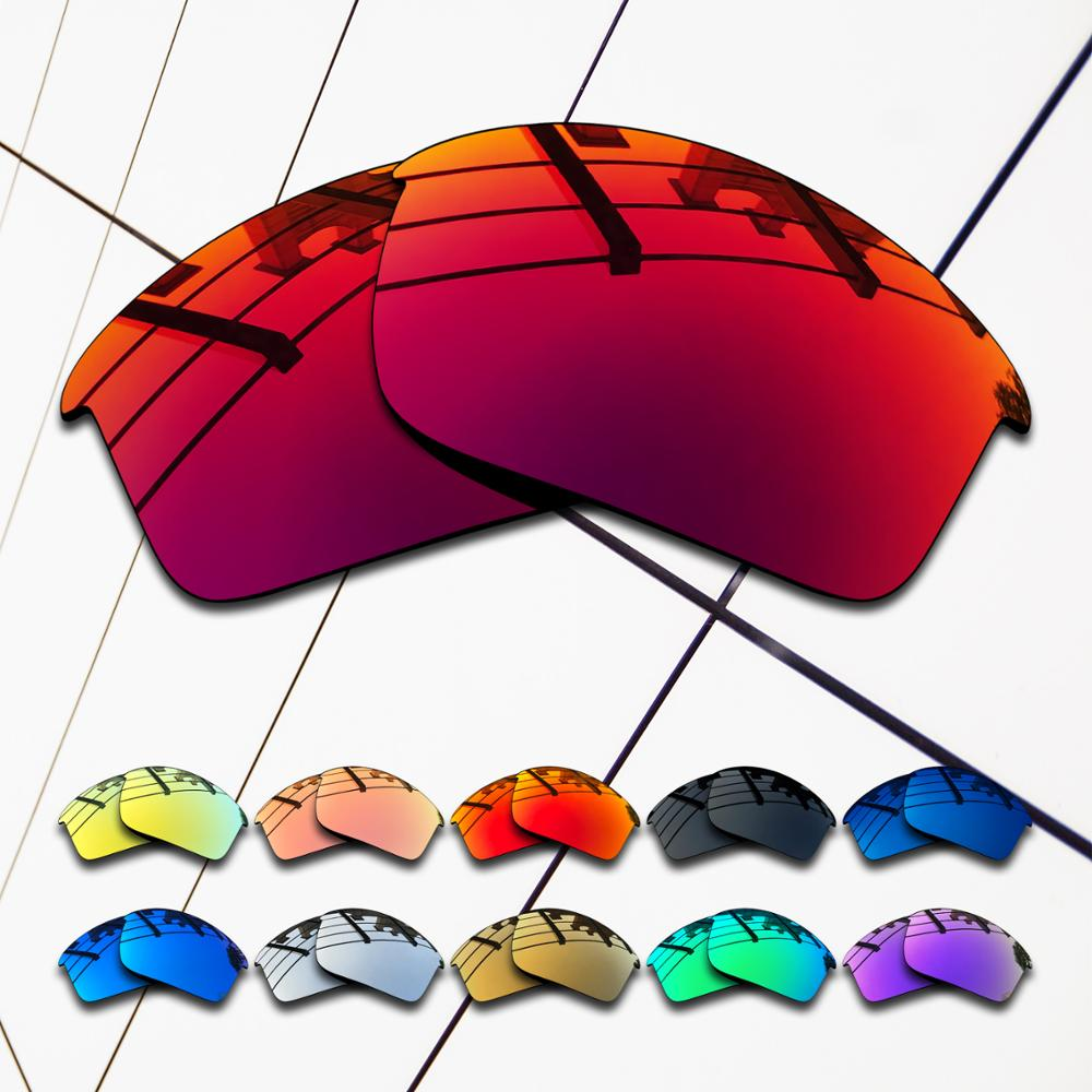 Wholesale E O S Polarized Replacement Lenses for Oakley Flak Jacket Sunglasses Varieties Colors in Eyewear Accessories from Apparel Accessories