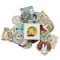 38 pcs/bag Diary Decoration Scrapbooking DIY Cute Kawaii Paper Sticker, Animal