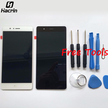 Лучшие Для huawei P9 Lite ЖК-дисплей Дисплей + дигитайзер Сенсорный экран сборки Замена для huawei P9 Lite/G9 5,2 дюймовый смартфон