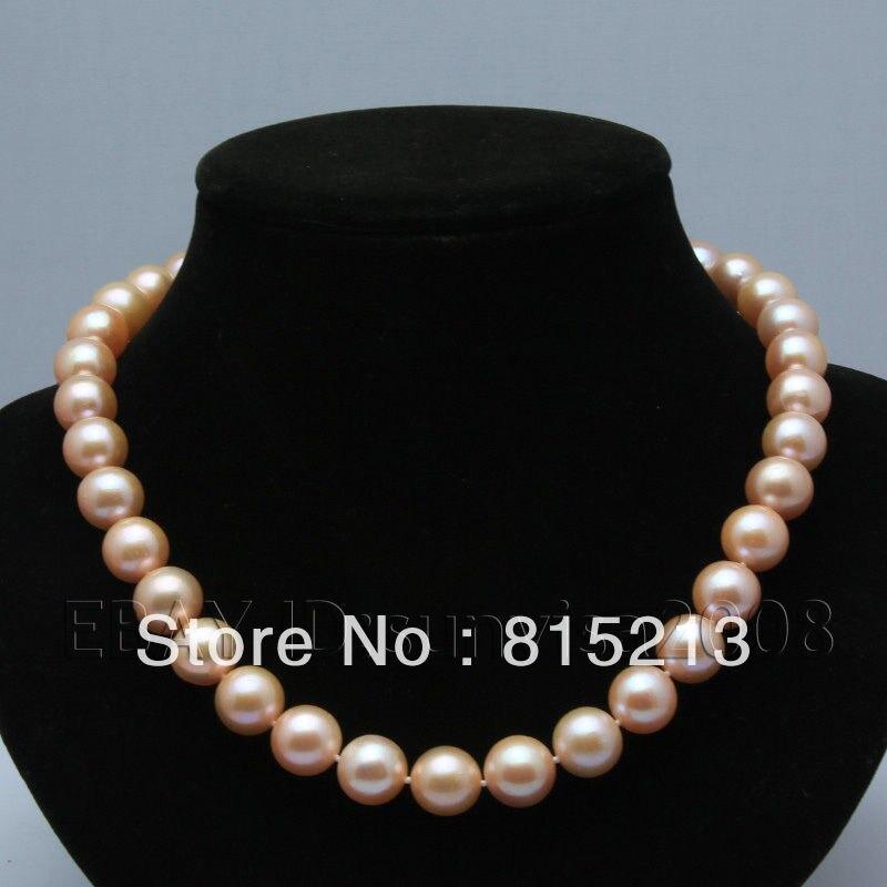 "Real 10 mm NATURAL BLACK Akoya Shell Perles Collier 18/"" AAA"