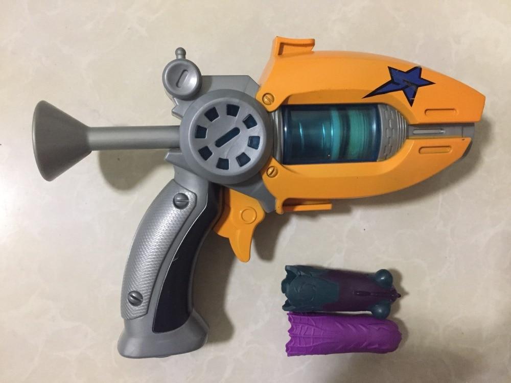 22cm Blue Orange blue Generation 1 Slugterra Gun Toy with 3 Bullets 1 Slug-terra doll Boy Pistol Gun d12