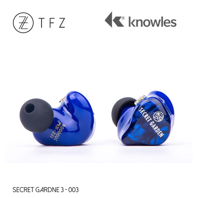 TFZ SECRET GARDEN 3 HiFi 3*Knowles Dynamic + Balanced Armature Hybrid driver In-ear earphone with 2Pin/0.78mm Detachable IEM цена и фото