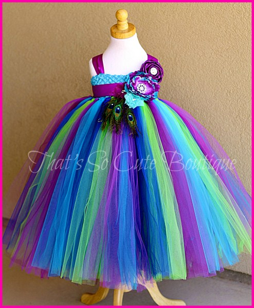 The Pea Princess Tutu Gorgeous Dress Birthday Special Sleeveless Long In Dresses From Mother Kids On