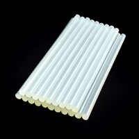NEWACALOX 20 stücke Weiß 11mm x 270mm Hot Melt Kleber Sticks für Elektrische Kleber Pistole Silikon Handwerk Album reparatur Werkzeuge Für Legierung