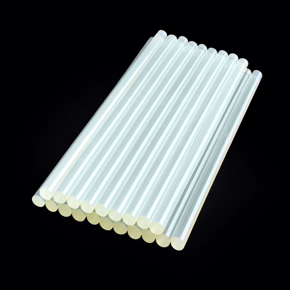 NEWACALOX 20pcs White 11mmx270mm Hot Melt Glue Sticks For Electric Glue Gun Silicone Craft Album Repair Tools For Alloy