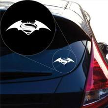 Batman Vs Superman-Aufkleber-Aufkleber für Autofenster, Laptop und mehr