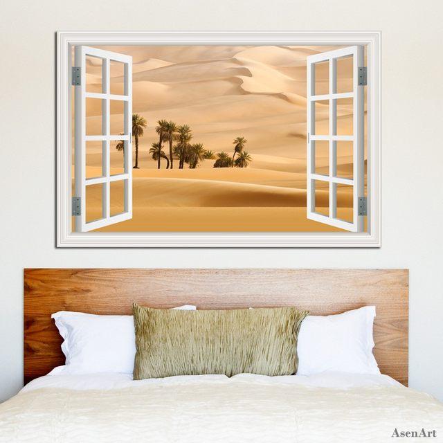 Online Shop Desert Stickers 3d Landscape Wallpaper Murals Nature