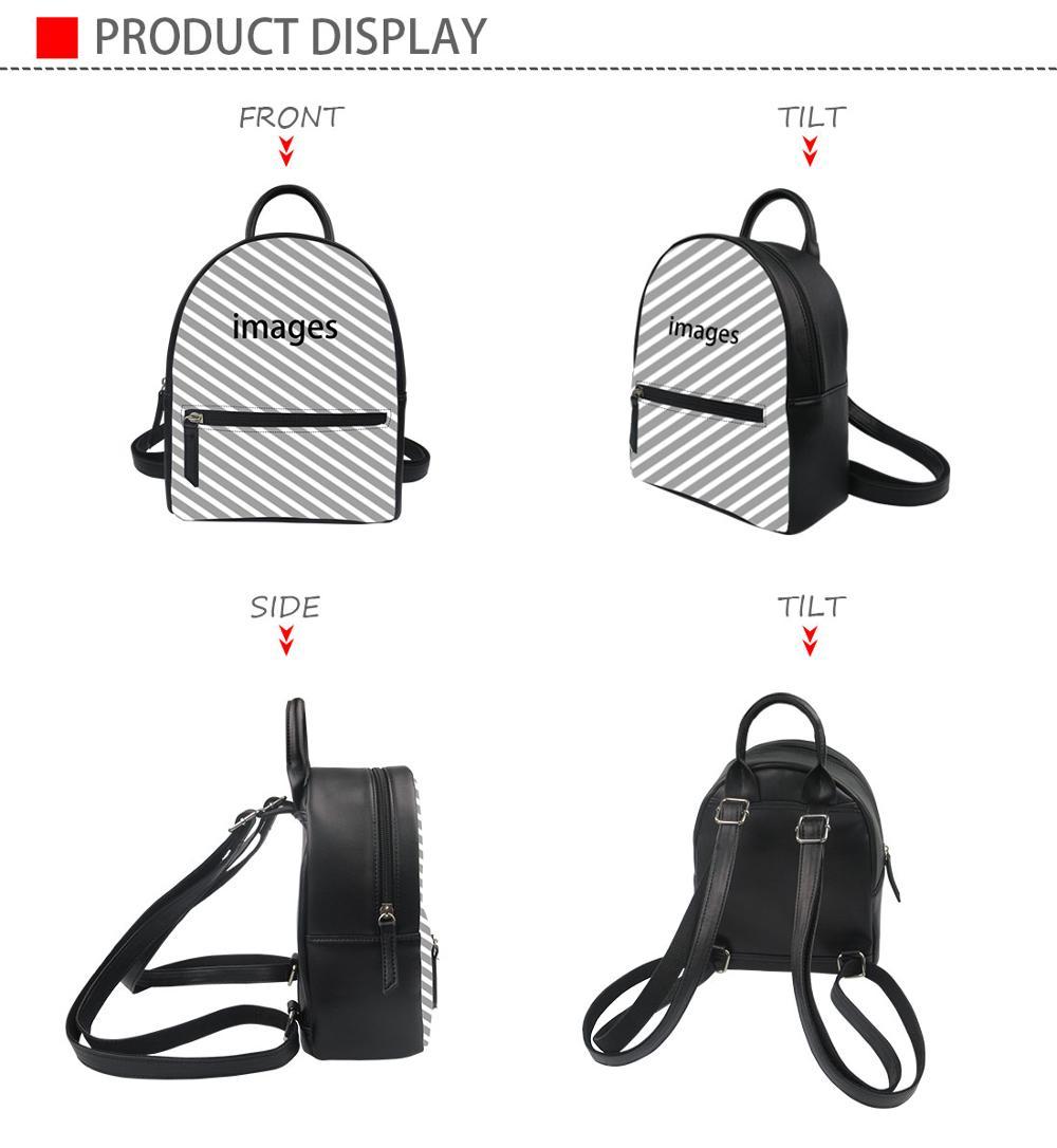 Black Palm Tree Shadow Pu Leather Double Sides Print Round Luggage Tag Mutilple Packs 1pcs,2pcs,4pcs