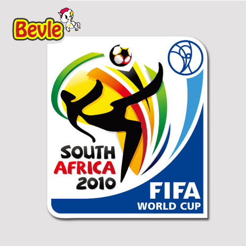Bevle 1229 2010 South <font><b>Africa</b></font> <font><b>World</b></font> <font><b>Cup</b></font> 3M Sticker Waterproof Laptop Luggage Fridge Skateboard Car Graffiti Cartoon Tide Sticker