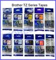Смешанные цвета совместим с Brother TZe лейбл лента 24 мм tze251 tze451 P-touch принтер ленточный лейбл мейкер