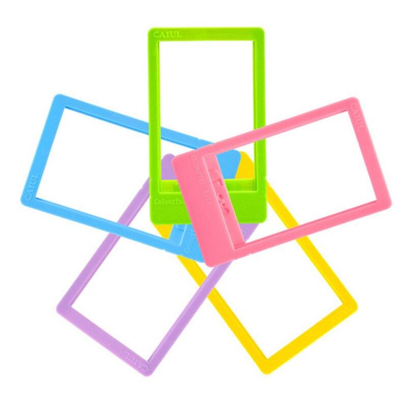 Este 10 unids/lote colorido mini foto Marcos para Fuji Películas ...