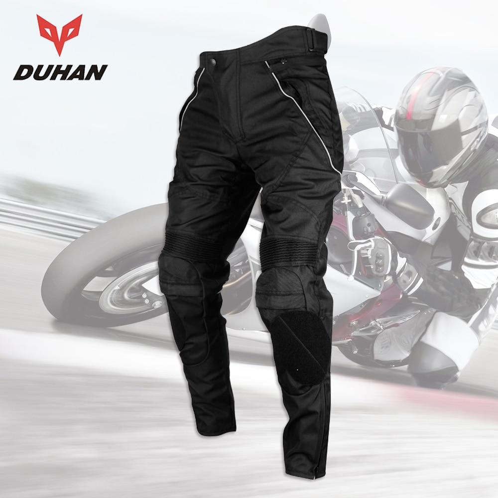 DUHAN Pantalones Moto Hombres Moto Pantalones Racing A Prueba de - Accesorios y repuestos para motocicletas