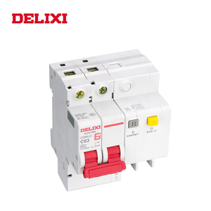 Image 3 - DELIXI CDB6iLE 4P 400V 10A 16A 32A 63A Residual current Mini Circuit breaker Overload Short Leakage protection C type curve RCBO