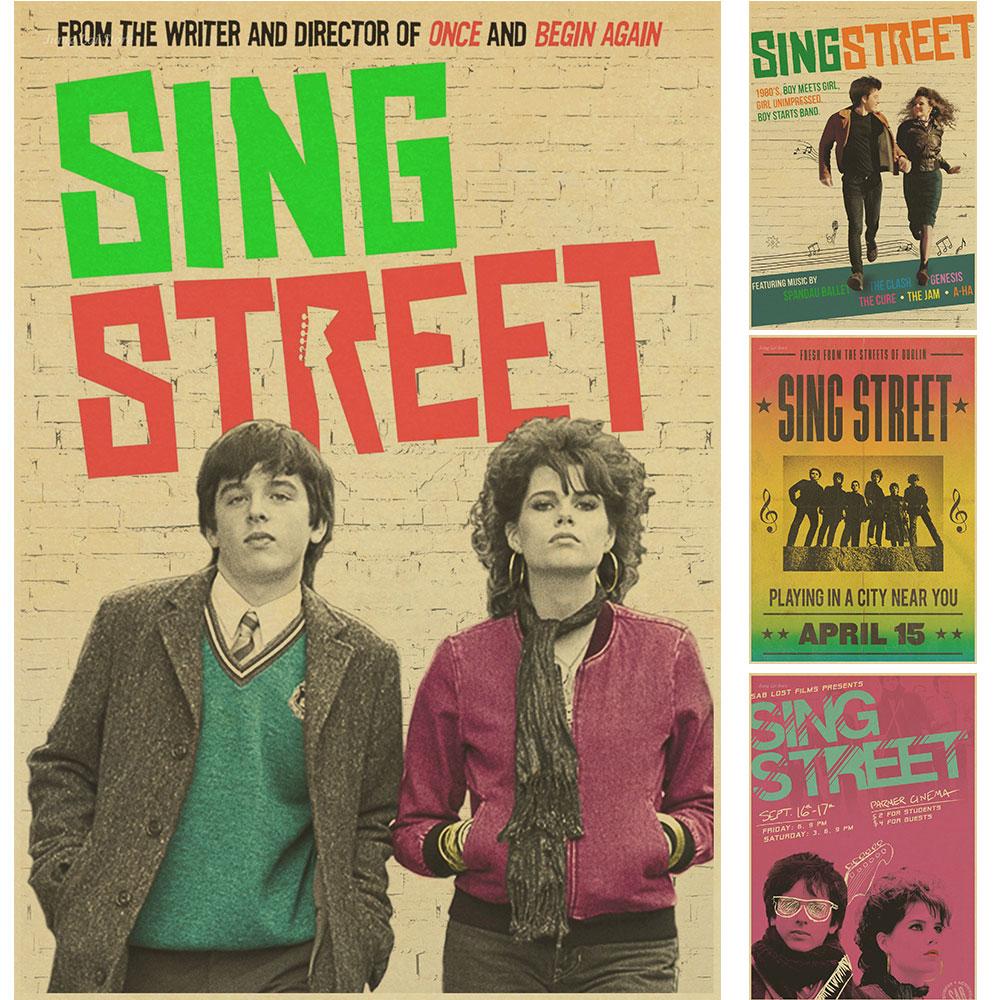 Sing Street Music Class Propaganda Vintage Kraft Decorative Poster ...