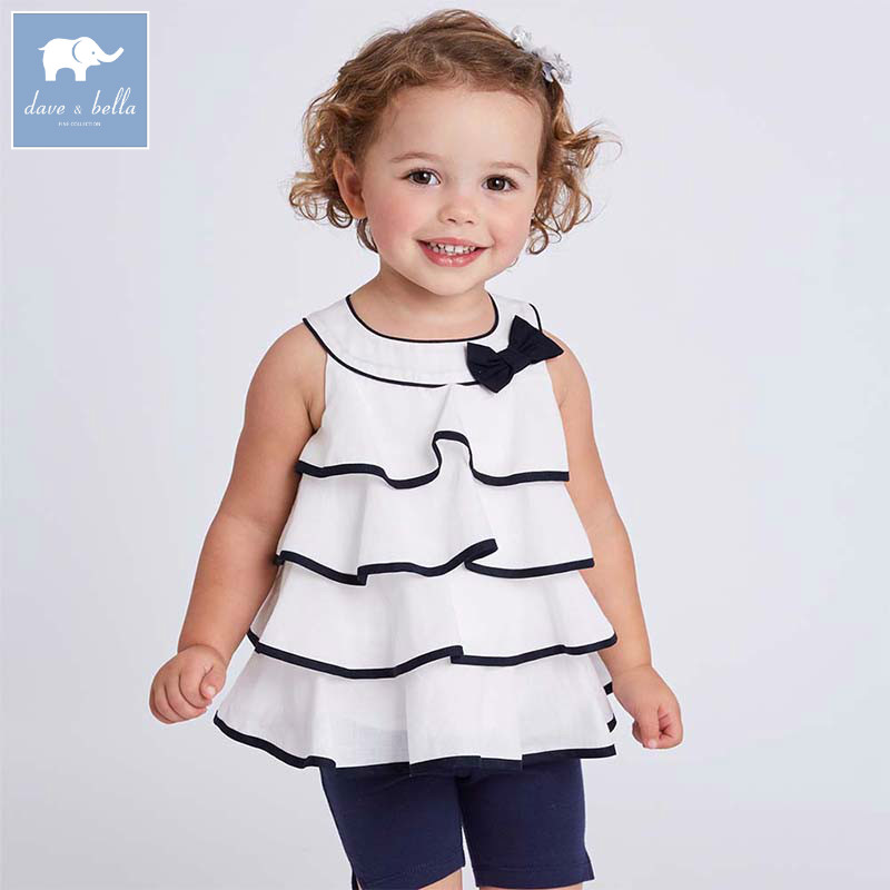 Dave bella toddler girls summer clothing children high quality clothes baby lovely suit  ...