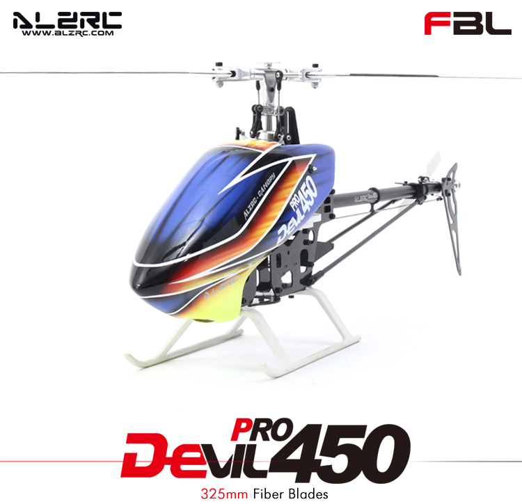 ALZRC - Devil 450 Pro FBL KIT/Silver/2015- Empty Machine/Standard Combo/Super Combo RC Helicopter Drone