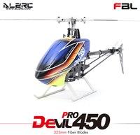 ALZRC Devil 450 Pro FBL комплект/серебро/2015 пустая машина/стандартный комбо/супер комбо RC вертолет Дрон
