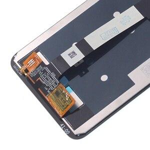 Image 5 - Orijinal lcd Xiaomi Redmi için not 6 Pro lcd ekran dokunmatik ekranlı sayısallaştırıcı grup Redmi için not 6Pro onarım parçaları ile çerçeve
