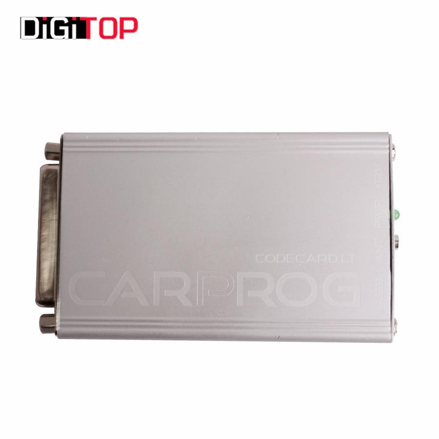 ФОТО Carprog V7.28 Carprog Full Newest Version (With All 21 Items Adapters)