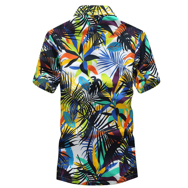Tailor Pal Love Hawaiian Casual Short Sleeves Shirt for Men