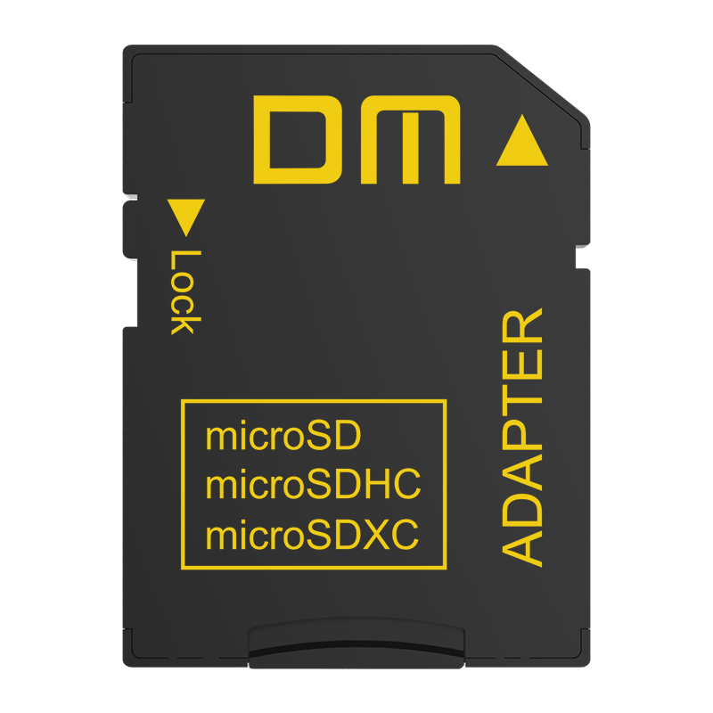 DM SD-T2 Memory Card Adapters SD2.0 comptabile with microSD microSDHC microSDXC suport max capacity to 2TB