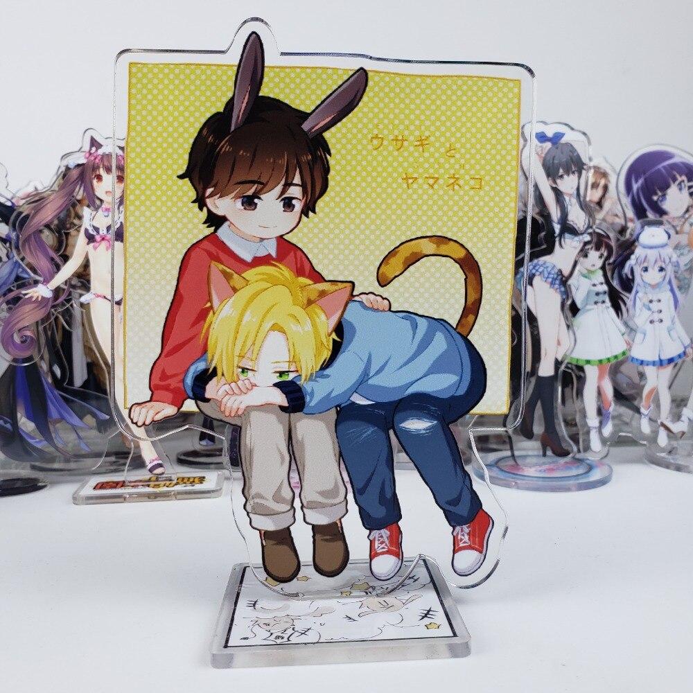 Anime Banana Fish Ash Okumura Eiji Couples Acrylic Stand Figure Display 15cm