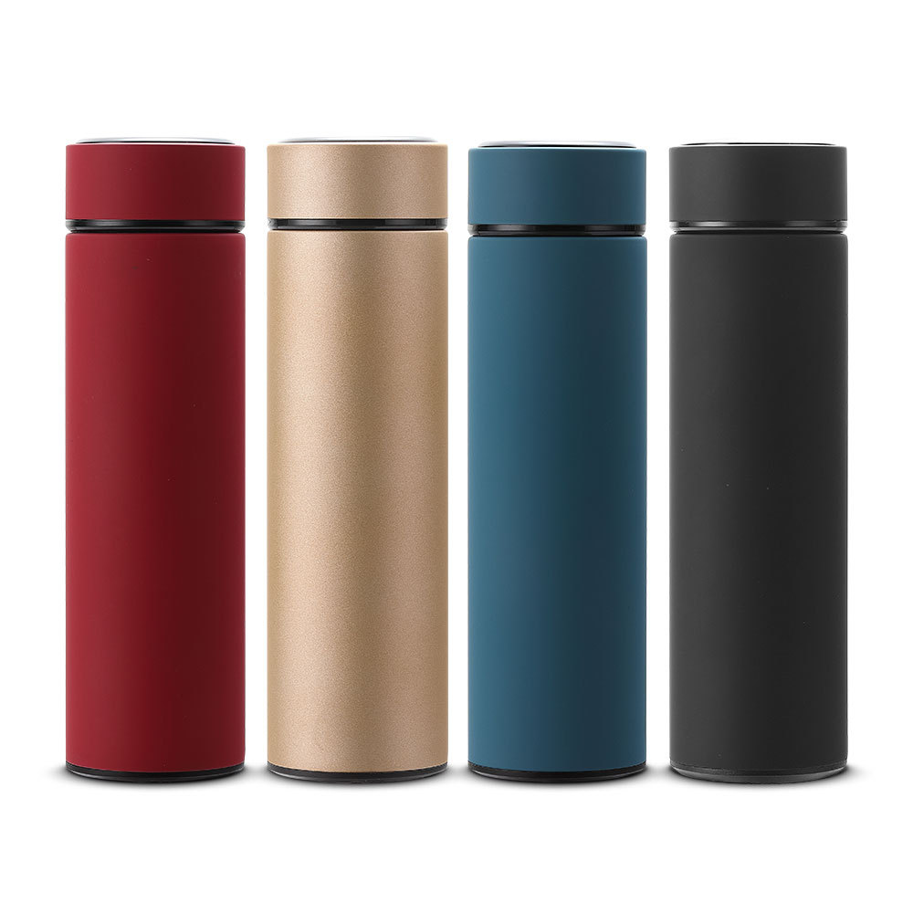 luluhut stainless steel vacuum cup frosted leak-proof thermos water bottle High-grade Car Business People Insulation Cup