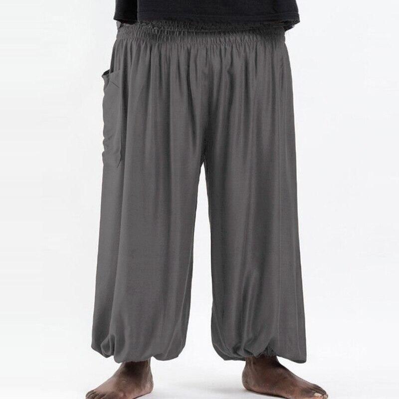 100% QualitäT Incerun Casual Hosen Männer Elastische Taille Breite Beine Baggy Jogger Gerade Afrikanische Hosen Hosen Männer Harem Hosen Plus Größe 2019