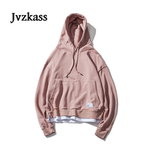 Jvzkass 2019 new Unisex womens simple hit color oversize loose hooded women Korean autumn hoodies Z43
