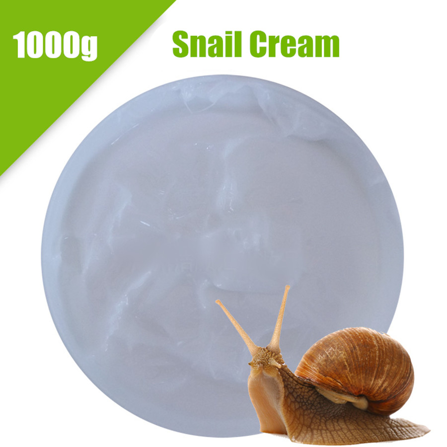 Snail Cream Whitening Scars Acne Repairing Anti-Wrinkle  Brightening Moisturizing Beauty Salon 1000g 1000g snail cream whitening moisturizing brightening firming neck cream facial lifting products senium pores beauty salon oem