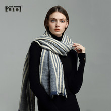 ФОТО hot sale women scarves cotton neck scarf knitted winter woman stole warm luxury sea-striped shawl cashmere scarf 1712