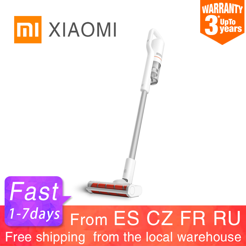 New XIAOMI ROIDMI F8 Handheld Vacuum Cleaner for Home Low Noise Dust Collector household cyclone LED