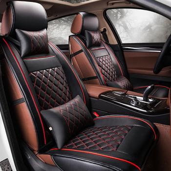 5 miejsc samochodów pokrycie siedzenia samochodu dla Mercedes Benz C180 C200 C200 CGI C200K C220 C250 C280 C300 C350 C450 B klasa samochodów stylizacji tanie i dobre opinie Dingdian Cztery pory roku 63cm 56cm Pokrowce i podpory 3 3kg Przechowywanie i Tidying Wodoodporne Podstawową Funkcją 48cm