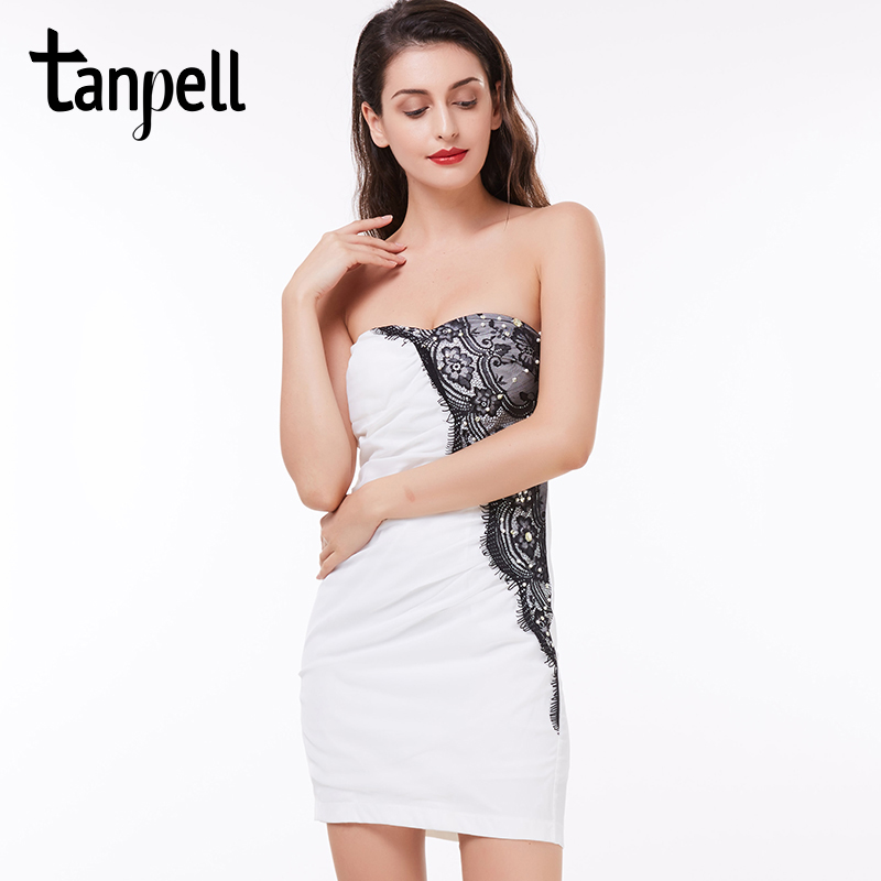 Online Get Cheap White Strapless Cocktail Dress -Aliexpress.com ...