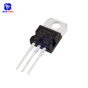 1 Piece IC Chip Voltage Regulator L7812CV L7812 7812 TO-220 Positive Fixed 1 Output 12V 1.5A image