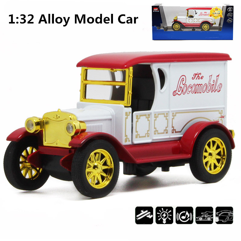 Vintage antique classic cars,1:32 scale alloy pull back model cars ...