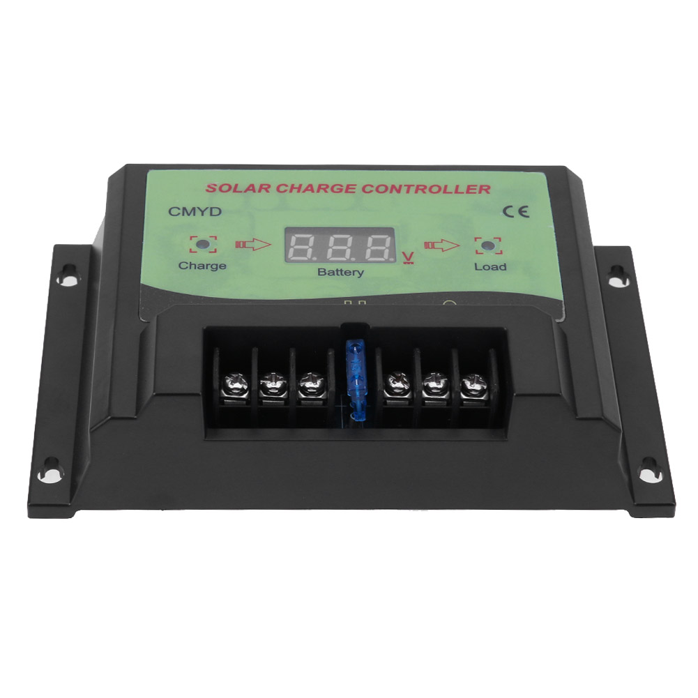 12/24V Solar Controller 10A Voltage Regulator Solar Charge Controller Battery Protection for LED Lighting Solar Home System cheap china 300w off grid solar system 50w solar pane70wfor home led lamp battery 24ah solar regulator controller 10a sfps134