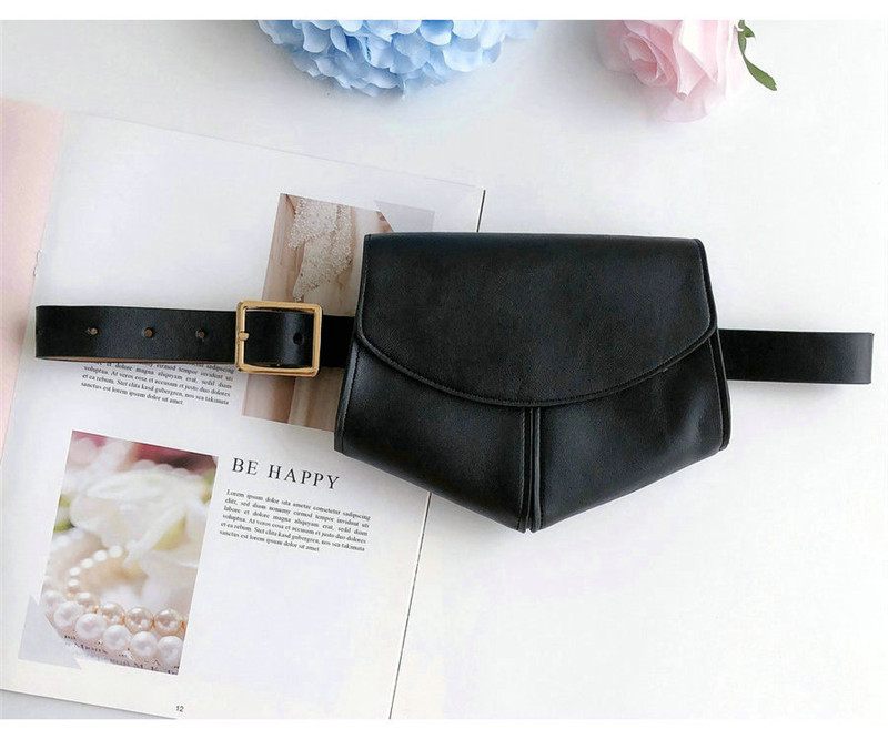 Fashion Women Girl Waist Fanny Pack Belt Bag Chest Pouch Travel Hip Bum Bag Purse
